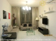 Simple 2 beds apartment with high floor in The Vista An Phu