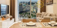 Two-bedroom apartment with good furniture for in Vinhomes Central Park
