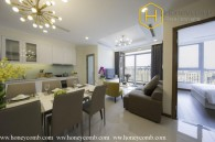 Contemporary fully furnished 2 bedrooms apartment in Vinhomes Central Park