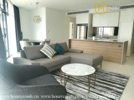 Full furnished 2 beds apartment with brand new in City Garden for rent