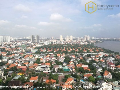 Wondeful 2-beds apartment with nice view in Masteri Thao Dien