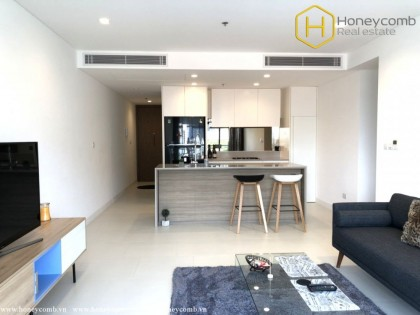 Good view and brand new 1 bedroom apartment in City Garden for rent