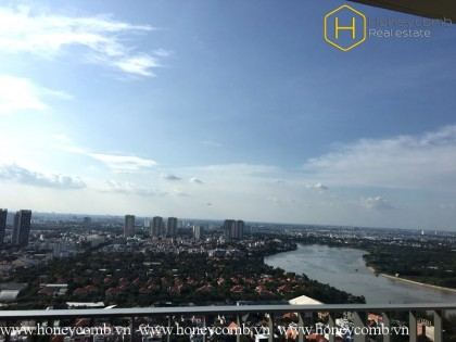 Amazing river view 2 beds apartment in Masteri Thao Dien