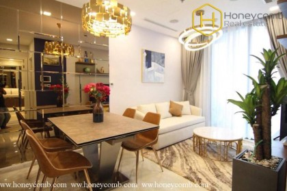 Nice spacious 2 bedrooms apartment in Vinhomes Central Park