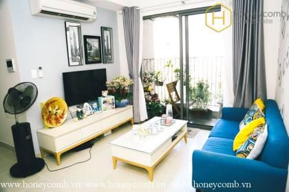 2-bedrooms apartment with low floor in Masteri Thao Dien