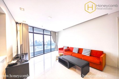 Lush contemporary 2 bedrooms apartment in City garden for rent