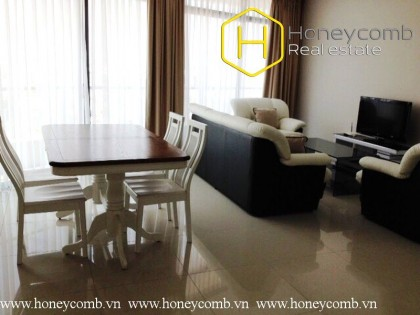 Full furnished 2-beds apartment in City Garden for rent