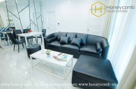 The 2 bed serviced apartment with strong and masculine design at Distric 1