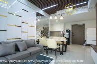 The 2 bedrooms-apartment is so elegant in Masteri An Phu