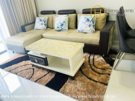 The warmest place where you always want to come back is this 2 bed-apartment from Masteri An Phu