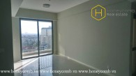The bright and air 2 bed-apartment without furniture at Masteri An Phu