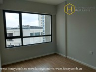 The commodious 2 bed-apartment without furniture is available at Masteri An Phu