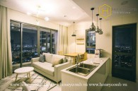 The 2 bed-apartment with eye-catching design and exceptional view at Masteri An Phu