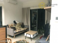 You will be fascinated with this 2 bed-apartment that looks so bright and beautiful at Masteri Thao Dien