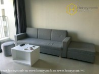 The convenient and modernity made this 2 bed-apartment become great choice for you at Masteri Thao Dien