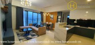 So marvelous is this 3 bed-apartment that you can't take your eyes off at Masteri Thao Dien