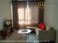 The pleasing and ingenious 2 bed-apartment from Masteri Thao Dien for lease