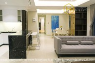 You will be overwhelmed by the luxury and modernity of  this 3 bed-apartment at Masteri Thao Dien