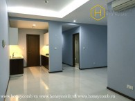 The 2 bed-apartment without furniture is so spacious and airy at Thao Dien Pearl