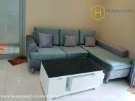 What you can see first in this 2 bed-apartment is warmth and convenience at Vinhomes Central Park