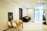 Don't wait anymore ! The shiny and picturesque 2 bed-apartment is available at Vinhomes Central Park