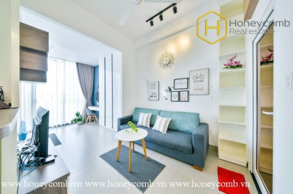 The dynamism and strong attraction are what 1 bed serviced apartment will give you at  District 2