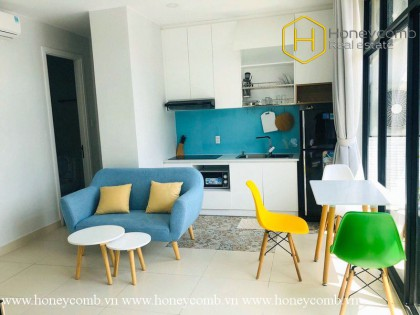 This 1 bed serviced apartment has all the amenities that you need at District 2