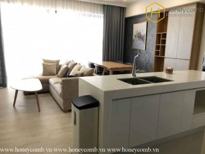 2 bedrooms apartment with Western style in Gateway Thao Dien