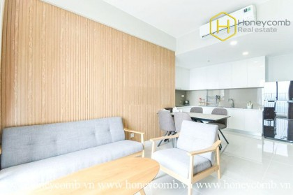 Relaxing with this simple, delicate 2 bed-apartment at Masteri An Phu