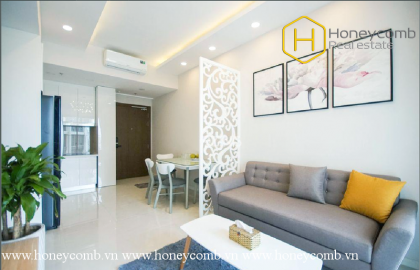 This unique 2 bed-apartment may make you fall in love at Masteri An Phu
