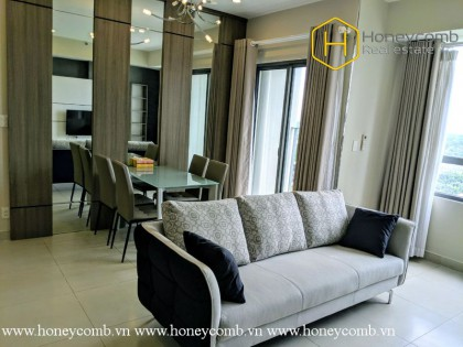 Lush contemporary 2 bed apartment in Masteri Thao Dien