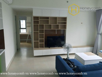 Masteri apartment 2 bedroom with high floor for rent