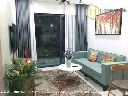 The warmest place where you always want to come back is this 2 bed-apartment from New City