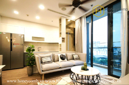 The stunning 2 bedrooms-apartment is waiting for you in Vinhomes Golden River
