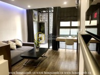 Feel the elegant and superb design with a wooden furnished apartment for rent in District 1
