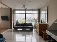 Open view apartment with moderate price is available for rent in City Garden