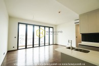 In love with the charming design in this unfurnished apartment for rent in D'edge