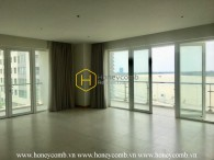 Airy view apartment for rent in Diamond Island