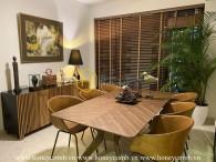 Colorful design apartment and full of creative ornamentations for rent in Feliz En Vista