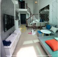 Mê đắm với màu trắng quý phái trong căn hộ duplex Feliz En Vista cao cấp này