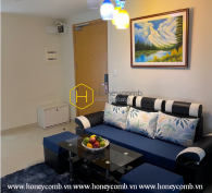 Fully-funished, high floor apartment for rent in Masteri Thao Dien