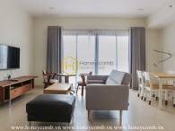 Immerse yourself in the pure white color of your apartment in Masteri Thao Dien