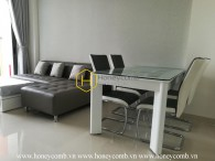 Artistic decoration with subtle design apartment for rent in The Sun Avenue