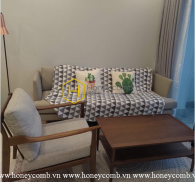 Rustic and homey - 2 bedrooms apartment for rent in Vinhomes Golden River