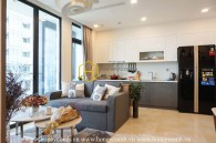 Suprised with the perfect refinement of this apartment in Vinhomes Golden River