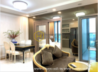 This apartment in Vinhomes Landmark 81 is everyone's dream: nice decor, convenient and spacious!