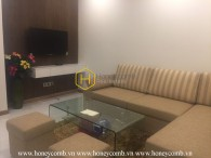 Good furniture with 1-bed apartment in Vinhomes Central Park for rent