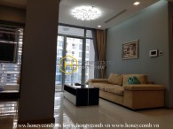 The 2 bedrooms-apartment with mid-century modern style in Vinhomes Central Park