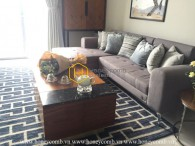 The 1 bedroom-apartment with creative design from Vinhomes Central Park