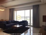 Căn hộ 3 phòng ngủ rộng rãi với thiết kế huyền ảo tại Xi Riverview Palace
